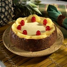Eagle Brand® Pina Colada Cheesecake