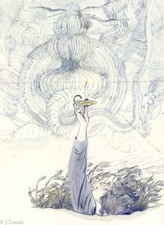 "Jillian Tamaki ""Goblin Market & Selected Poems by Christina Rossetti"" for the Folio Society"