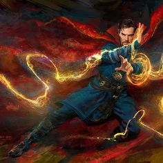Bringing Magic to the Marvel Cinematic Universe - Doctor Strange's Trippy History - Photos