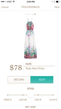 I WANT THIS DRESS!!!!! I NEED IT IN MY CLOSET!!! love Stitch Fix! A personalized styling service and it's amazing!! Simply fill out a style profile with sizing and preferences. Then your very own stylist selects 5 pieces to send to you to try out at home. Keep what you love and return what you don't. Only a $20 fee which is also applied to anything you keep. Plus, if you keep all 5 pieces you get 25% off! Free shipping both ways. Schedule your first fix using the link below! #stitchfix…