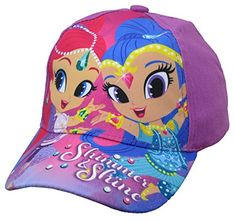 09fbe39dc74 Shimmer and Shine Girls Purple Baseball Cap – Toddler  6014  Preteen Girls  Fashion