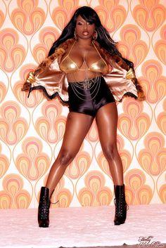 Jada Fire Pornstar Posing Hot Slender Ebony Glamour