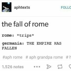 Lol I just saw this the other day when I was looking up Germania