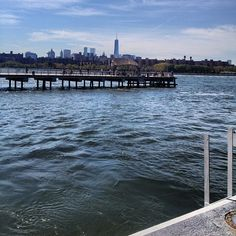 Waiting for the East River Ferry. North Williamsburg.
