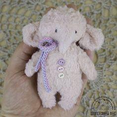 Слоник. Тедди-примитив.