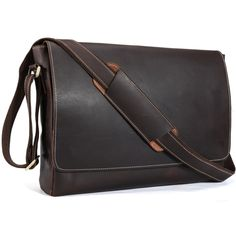 103.20$  Watch here - http://alitkr.shopchina.info/go.php?t=32579380440 - TIDING Genuine Leather 15 inch Laptop Messenger Bag Men Simple Vintage Style Cross body Shoulder Briefcase Large Satchel 11532  #magazineonline