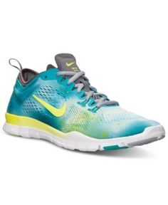 buy online b7ca4 41f31 Amazon.com   Nike Women s Free 5.0 Tr Fit 4 Teal Yellow Training Sneakers  US 10   Trail Running