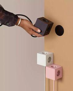 SQ1-F-USB-x-Avolt-Square-1_m2 Usb, F 16, Square, Sorting, Floating Nightstand, Stockholm, Door Handles, Smartphone, Interior