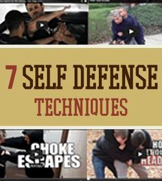 7 Self Defense Video Techniques You Need To Know | Training and Ideas On How To Identify Attackers Pressure Points by Survival Life http://survivallife.com/2014/03/10/7-self-defense-video-techniques/