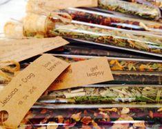 Loose leaf Tea Infuser Test Tube Wedding by customfavours on Etsy