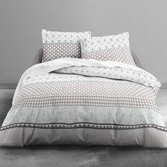 housse de couette dota 220 x 240 en coton maison deco. Black Bedroom Furniture Sets. Home Design Ideas