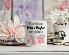 Long Distance Gift Mother & Daughter / Mother and Son, Father And Daughter and Father + Son, Long Distance Girlfriend or distance boyfriend Mother Day Gifts, Gifts For Mom, Long Distance Mugs, Family Over Everything, Christmas Delivery, Mom Birthday Gift, Goodbye Gifts, Gift Guide, Party Supplies