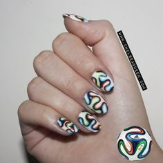 World Cup Nails #prom