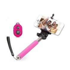 Monopod Selfie Stick with Bluetooth Remote #Selfie