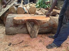 A table in acajou we are working on.