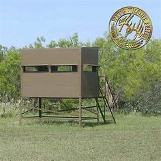 Deer Blinds for Sale - Elevated Deer Blinds - Texas . Hunting Stands, Deer Stands, Deer Blinds For Sale, Shooting House, Deer Hunting Blinds, Archery Hunting, Camping, Texas, Tiny Houses