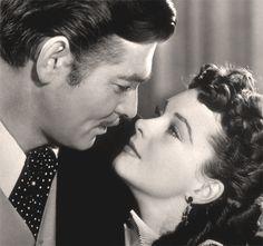 Lo que el viento se llevo Clark Gable y Viviene Leigh