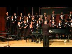 "GSU Men's Choir sings ""The Awakening"" - Joseph M. Martin - YouTube"