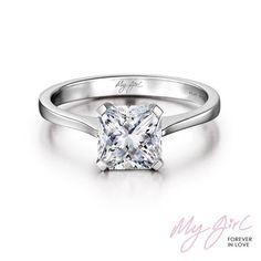 My Girl Diamond Engagement Ring. Shimansky