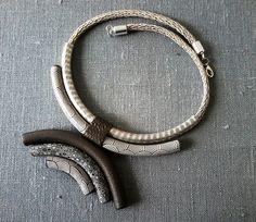 Collier ethnique polymère