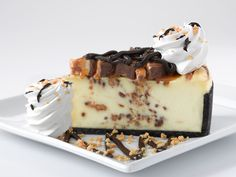 The Cheesecake Factory: Snickers® Bar Chunks and Cheesecake