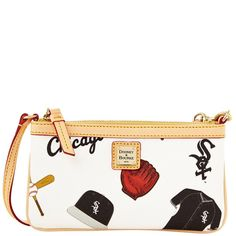 Dooney & Bourke MLB Chicago White Sox Large Slim Wristlet #DooneyBourke
