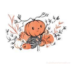 Days Until Halloween, Halloween Season, Cute Halloween, Vintage Halloween, Halloween Crafts, Halloween Pumpkins, Halloween Doodle, Halloween Stickers, Halloween Illustration