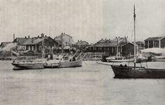 Oulun Konepaja Oy:n rakennuksia 1880-luvulla