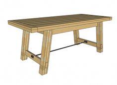 Benchright Farmhouse Table