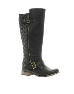 River Island Quilted Biker Boots - why are these called biker boots? Have I missed some phenomenon whereby all the bikers decided amongst themselves to wear fashionable non grunge boots?