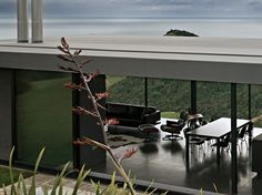 Modern Holiday Home Design Sandy Bay Road House New Zealand