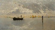 Ciardi,Guglielmo(Italianpainter,1842-1917),TheLagoon,Venice