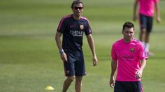 Who'll leave Barcelona first - Messi or Luis Enrique?