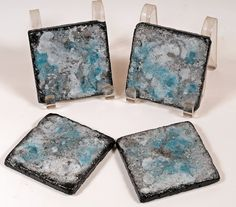 Decorative Tile Coasters Classy Handcrafted Drink Coasters Set Of 4 Painted 4X4 Natural Stone Review