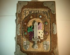 Adventure Time Enchiridion Deck Card Box Custom MTG EDH or Tarot case
