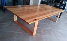 Recycled messmate timber dining table with wooden legs Timber Dining Table, Hardwood Table, Dining Tables, Dining Room, Recycled Timber Furniture, Industrial Furniture, Indoor Outdoor Furniture, Bath Room, Objects