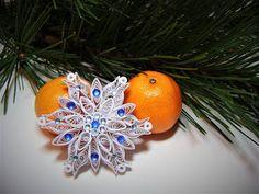 Four Quilling Christmas snowflakessnowflake christmas