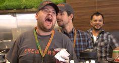 Video Licks: James Corden Tries His Hand at The Juice Biz