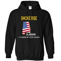 SMOKE RISE It's Where My Story Begins T-Shirts, Hoodies. Check Price Now ==►…