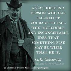 Why Catholicism?
