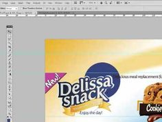 Product logo and packaging graphic design in Illustrator and photoshop - YouTube