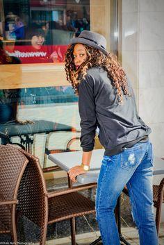 CASUAL WITH SKELETON #hat #fashion #hatfashion #blacktop #blaqckandjeans #jeans #springblogger #springfashion #curls #hair #goldwatch #blogger #fashionblogger #ootd #love #cute @choies
