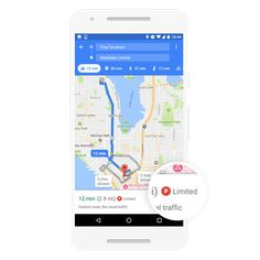 InFo'sarOunDs: Google Maps on Android Find Parking