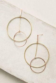 Pendulum Circle Earrings