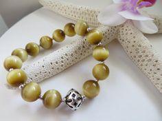 Honey Tiger Eye bracelet  Gemstone bracelet by Inspiredby10