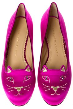 CHARLOTTE OLYMPIA FLATS @SHOP-HERS