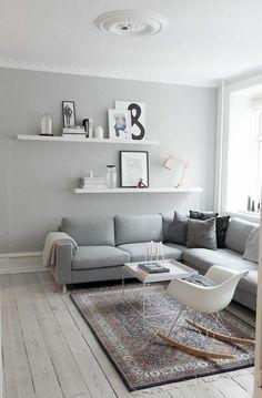 décoration scandinave, style nordique minimaliste