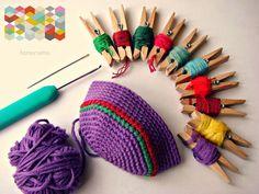 hamoraima: Tutorial ▼ Bola de crochet