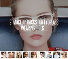 #Makeup #Eyeglass