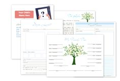 free printable documents (rules, planner, chores, etc)